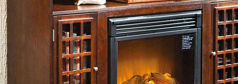 Electric Fireplace Logs With Heater